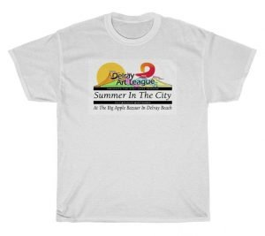 Summer In The City at the Big Apple Bazaar in Delray Beach T-Shirt